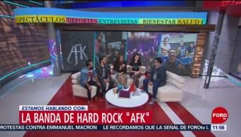 La banda 'AFK' presenta su nuevo disco 'Reflejo'