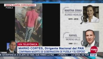 Muerte Martha Erika Alonso Duro Golpe Panismo