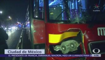 Muere hombre tras ser atropellado en la Ciudad de México