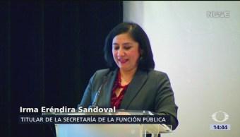 Titular de la Función Pública crítica el sistema nacional anticorrupción