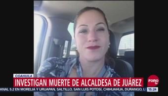 Investigan Muerte De Alcaldesa De Juárez, Coahuila Gabriela Kobel