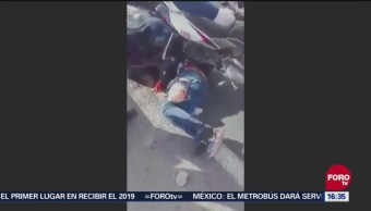 Chofer Atropella A Dos Hombres Que Intentaban Asaltarlo, Chofer Atropella A Dos Hombres, Intentaban Asaltarlo, Guanajuato