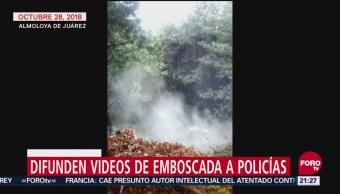 Difunden Videos De Emboscada A Policías En El Estado De México, Difunden Videos, Emboscada A Policías, Estado De México, Redes Sociales, Emboscada Contra Policías Del Estado De México, Municipio De Almoloya De Juárez