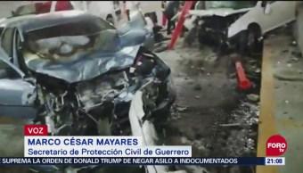 Un Muerto Por Accidente En Macrotúnel En Acapulco, Guerrero, Un Muerto, Accidente, Macrotúnel, Acapulco, Acapulco Dorado, Zona Diamante