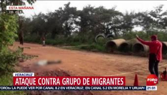 Atacan A Un Grupo De Migrantes En Veracruz, Atacan A Un Grupo De Migrantes, Veracruz, Hombres Armados, Carretera Federal 145, Municipio De Ciudad Isla