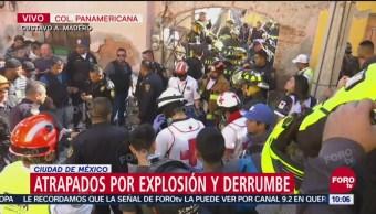 Explosión de tanque de gas en una casa en la GAM deja un muerto