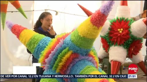 Piñatas De Acolman Tradición Vigente Estado De México