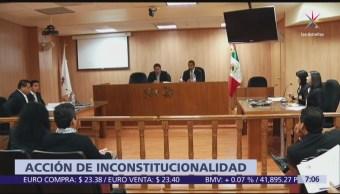 Legisladores de oposición presentan acción de inconstitucionalidad por recorte salarial