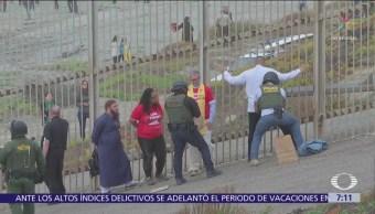 Líderes religiosos se manifiestan en apoyo a migrantes en San Diego, California