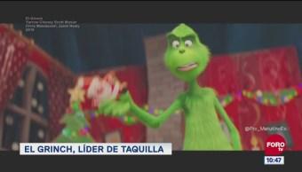 #LoEspectaculardeME: El Grinch, líder de taquilla