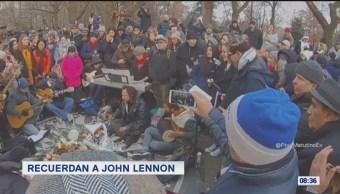 #LoEspectaculardeME: Recuerdan a John Lennon