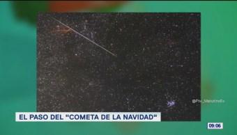 #LoQueVimosEnLaRed: El paso del 'Cometa de la navidad'