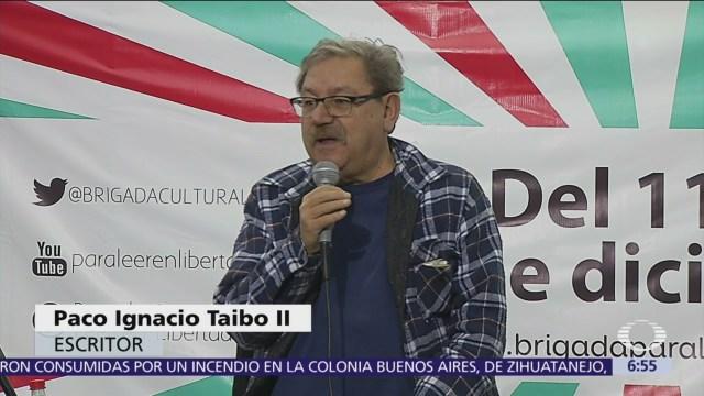 Paco Ignacio Taibo II divaga sobre su futuro