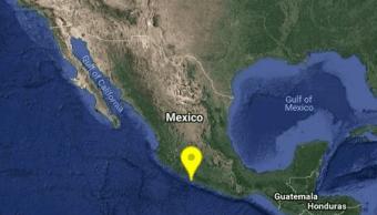 Sismo de magnitud 4.5 se registra en Zihuatanejo, Guerrero