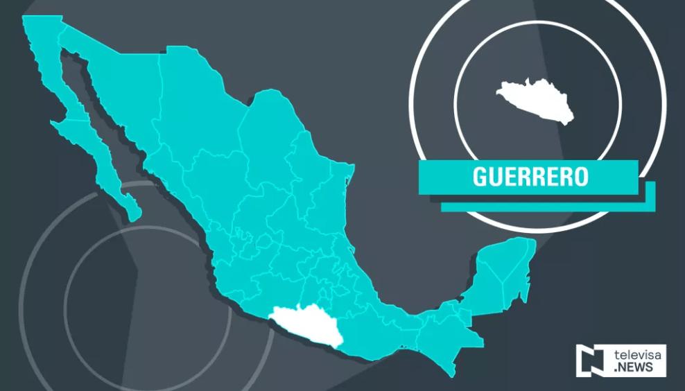 Mapa de Guerrero. (Noticieros Televisa)
