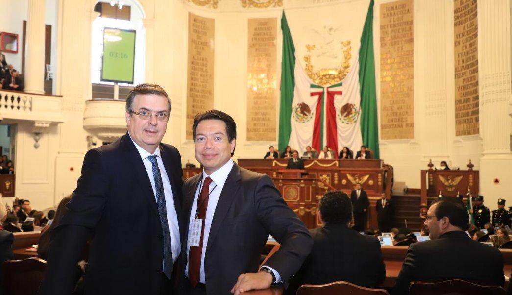 Senadores ratifican a Marcelo Ebrard como nuevo canciller