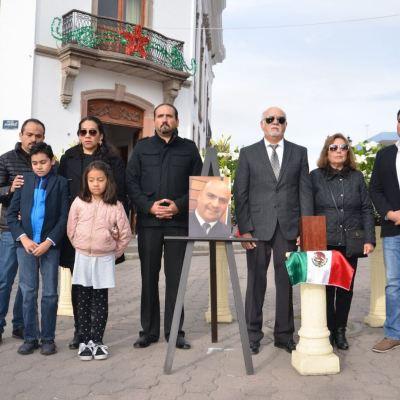 Rinden homenaje en Ameca, Jalisco, al piloto fallecido en accidente en Puebla