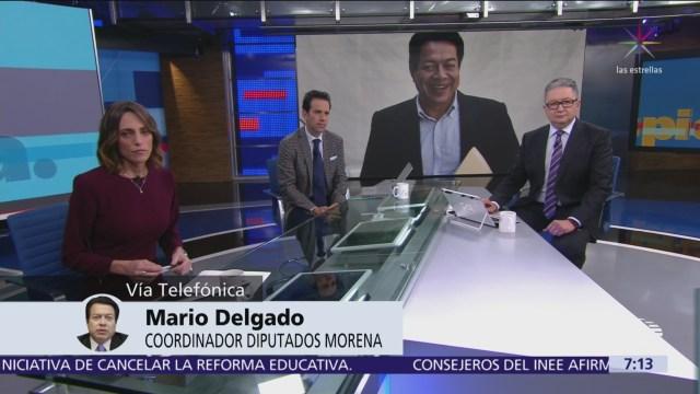 Mario Delgado: Paquete económico dará prioridad a programas sociales