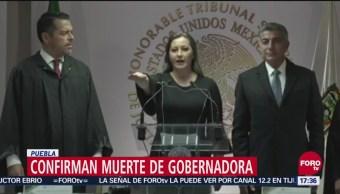 Martha Erika Alonso Iniciaba Periodo Gobernadora Puebla