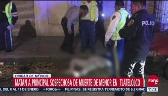 Matan a principal sospechosa de muerte de menor en Tlatelolco