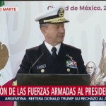 México inicia una época de cambios: secretario de Marina