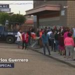 Migrantes en Tijuana, desesperados por cruzar a EU