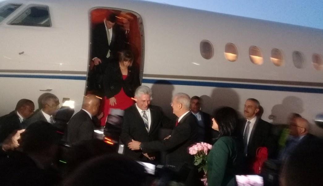 Mandatarios y diplomáticos llegan para la toma de AMLO