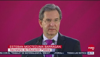 Moctezuma Confirma Cancelación Instituto Nacional Evaluación Educativa