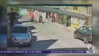 Motociclistas roban a joven en la colonia Ciudad Azteca, Ecatepec, Edomex