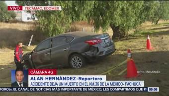 Muere ciclista atropellado en Tecámac, Edomex