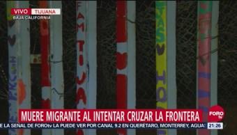 Muere Migrante Intentar Cruzar Frontera Ahogado