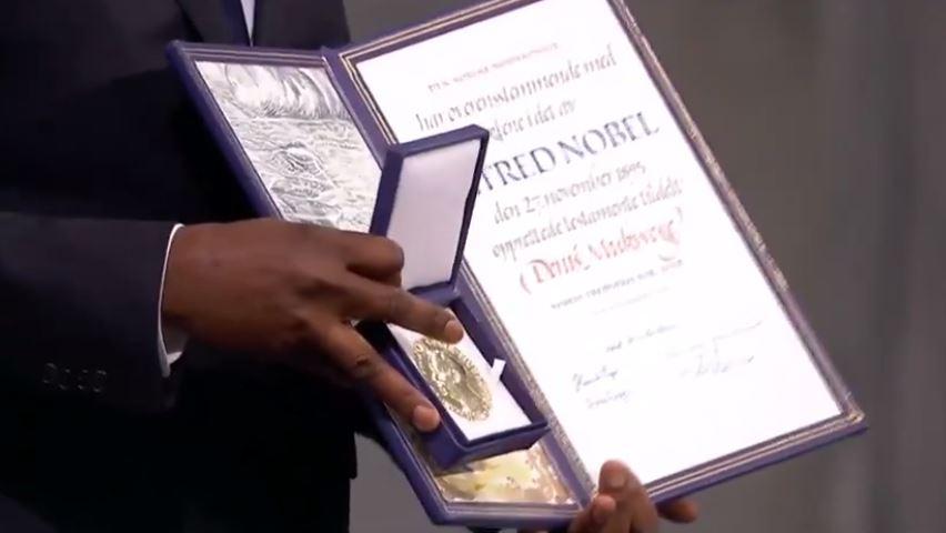 Mukwege y Murad reciben Nobel de la Paz