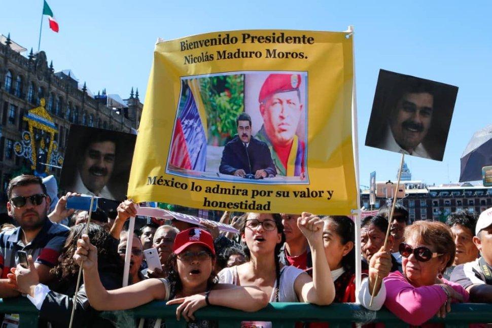 Maduro respalda a AMLO y agradece muestras de cariño