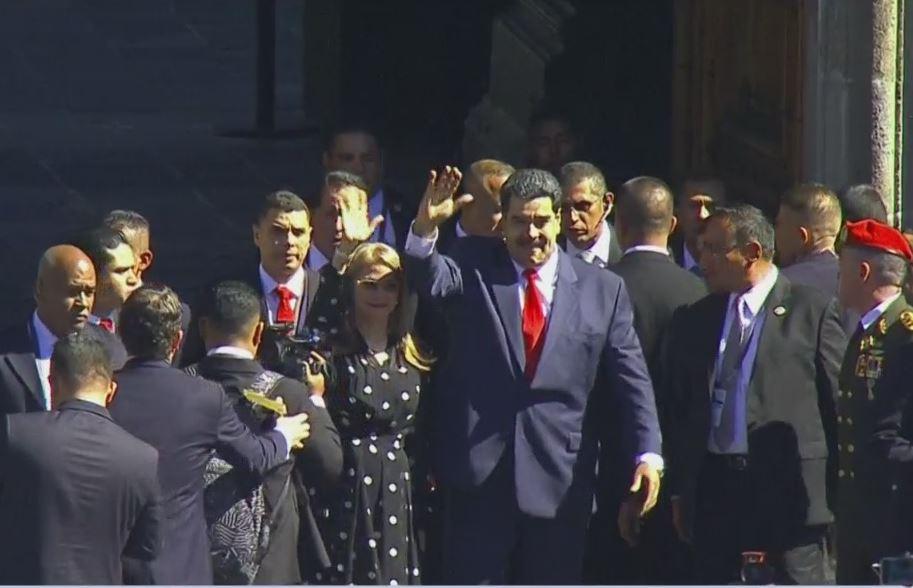 Nicolás Maduro sí llega a México y acude a Palacio Nacional – Noticieros  Televisa
