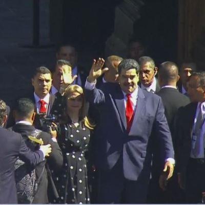 Nicolás Maduro sí llega a México y acude a Palacio Nacional