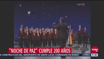 'Noche De Paz' Cumple 200 Años, Noche De Paz, Temas Navideños, Canción, Cumple Exactamente 200 Años De Vida