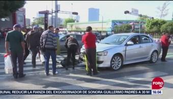 Atropellan Motociclista Avenida Chapultepec Cdmx