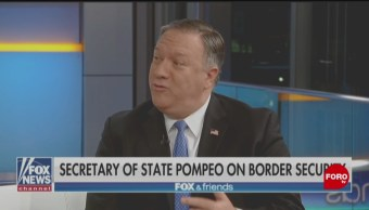 Nuevo Gobierno de México está actuando muy bien en migración, dice Pompeo