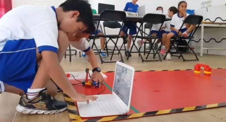 Realizan concurso de robótica en escuelas de Oaxaca