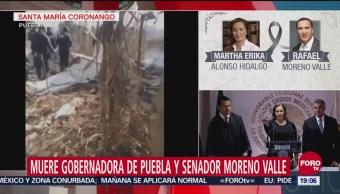 Martha Erika Alonso Tomó Posesión Cargo 14 Diciembre