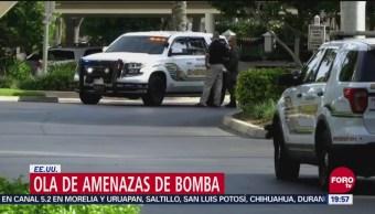 Ola De Amenazas Bomba Estados Unidos