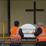 ONU pide a EU investigar muerte de niña guatemalteca