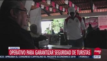 Operativo Garantizar Seguridad De Turistas Chiapas