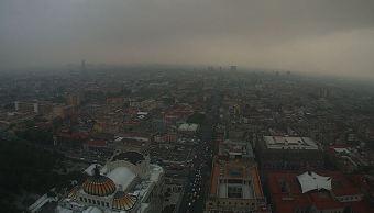 Ciudad de México registra una temperatura