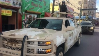 Seguridad Chihuahua; Llega patrulla militar a Ciudad Juárez