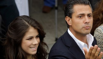 Paulina Peña Mensaje Padre EPN Tiempo