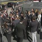 Peña Nieto llega al Palacio Legislativo