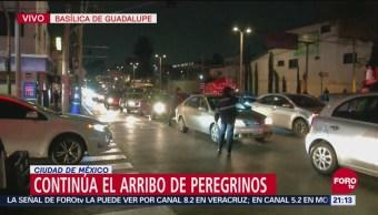 Peregrinos Provocan Caos Vial Inmediaciones Basílica De Guadalupe