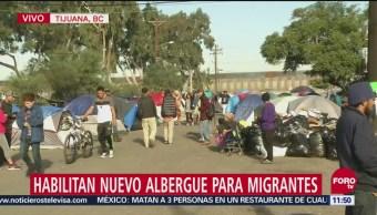 En Tijuana permanecen 5,400 migrantes centroamericanos que esperan una oportunidad para cruzar a Estados Unidos