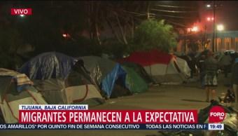 Permanecen Migrantes Unidad Deportiva En Tijuana